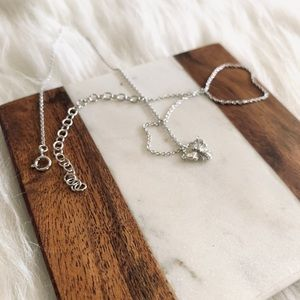 Jewelry - Queen Bee Honey Bee Necklace Sterling Silver